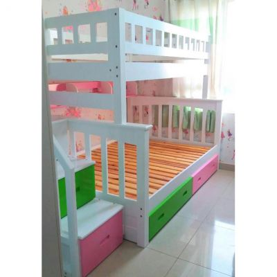 Giường 2 tầng American multi color